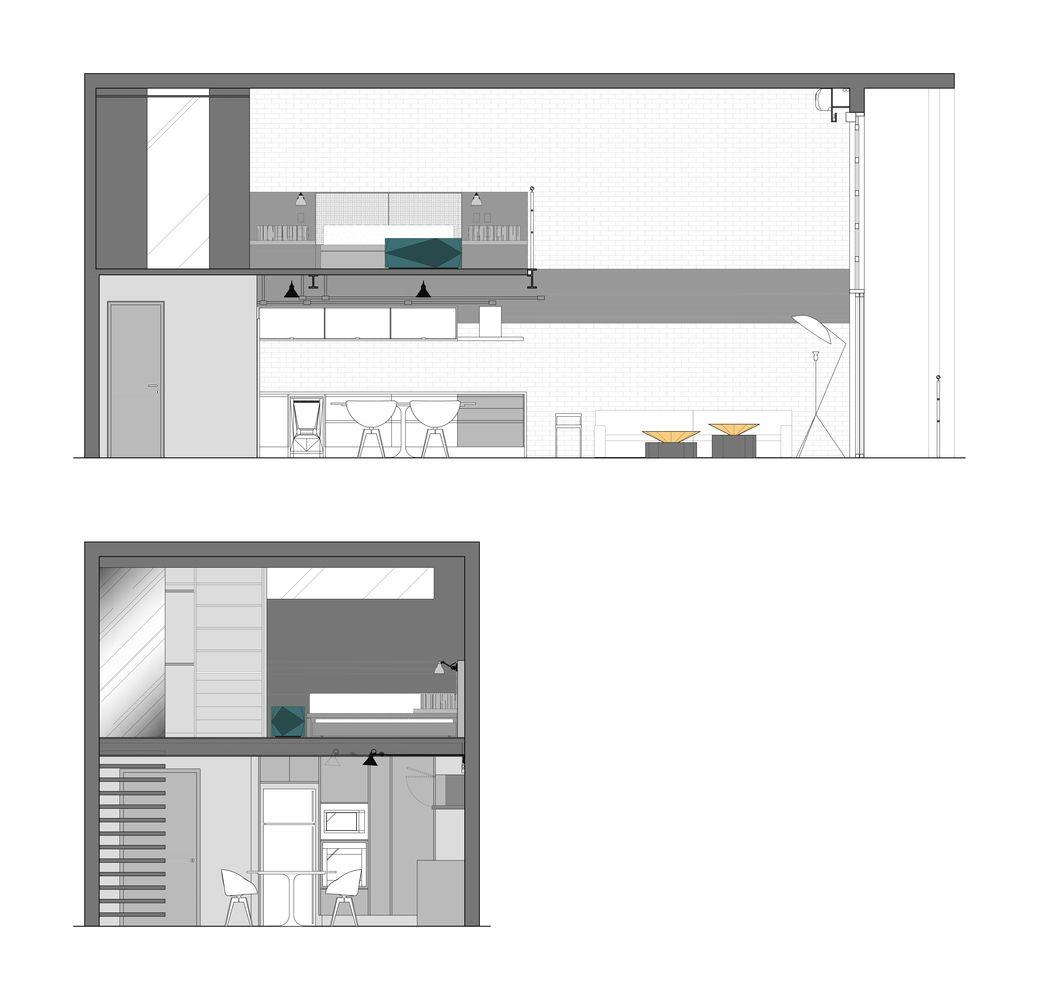 Galeria de loft industrial ii diego revollo arquitetura
