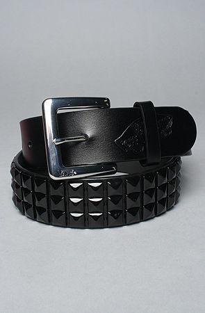 8d303ecfdc Vans Studded Leather Belt in Black