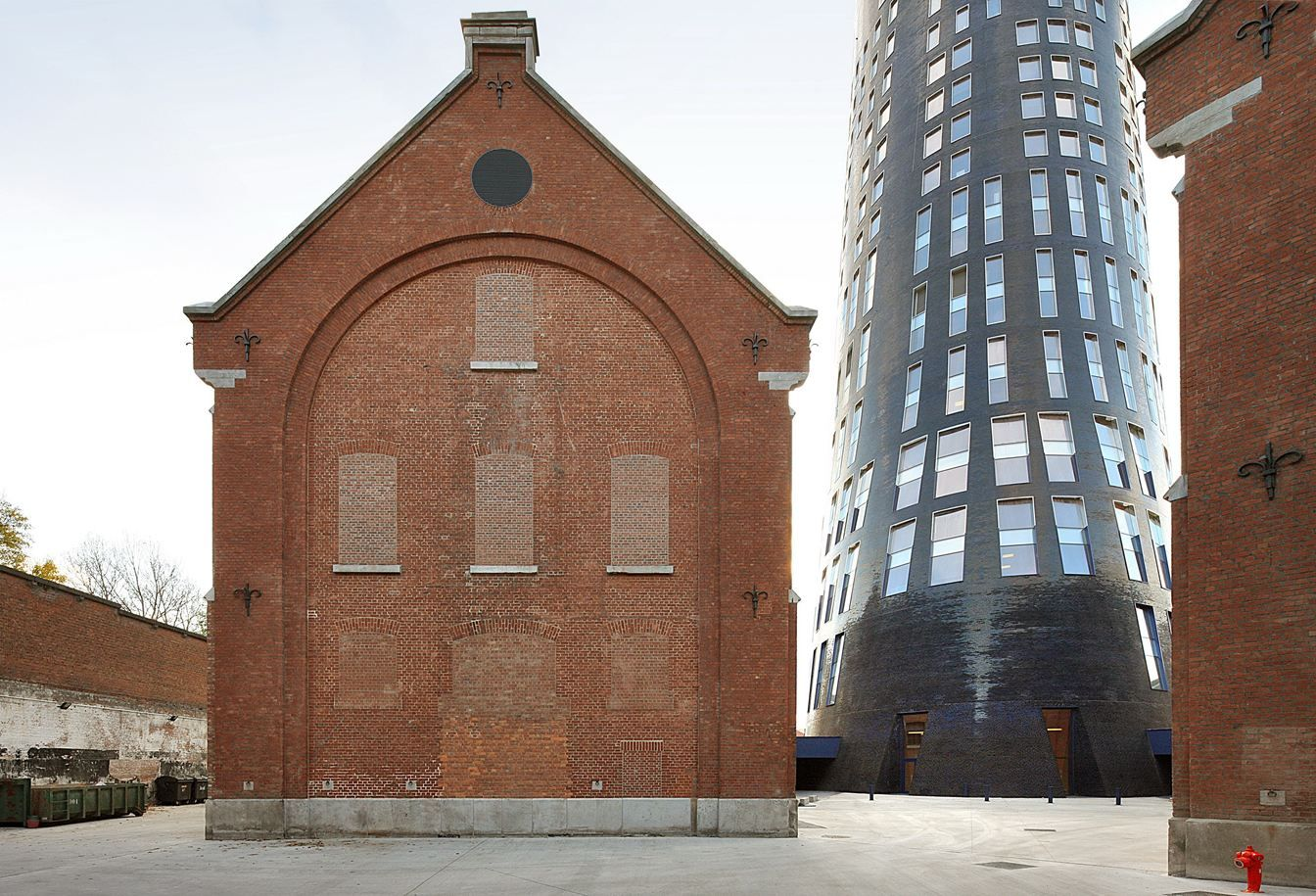 Jean Nouvel - Police Headquarters & Charleroi Danses Extension - Charleroi, Belgium
