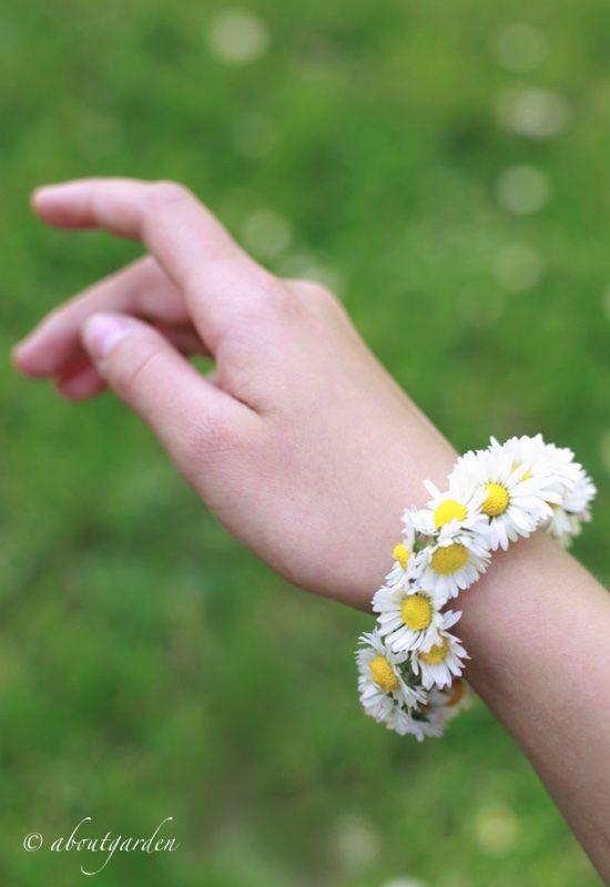 DIY: bracelet daisy