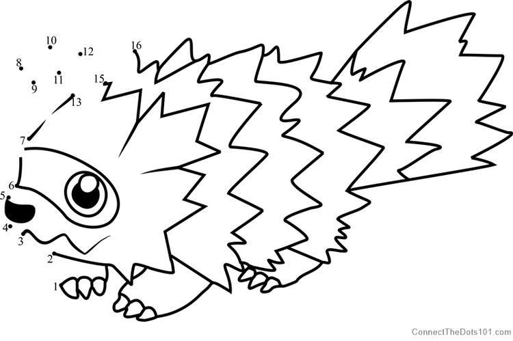 Pokemon Zigzagoon Dot To Dot Pokemon Pokemon Coloring Pages Dragon Coloring Page