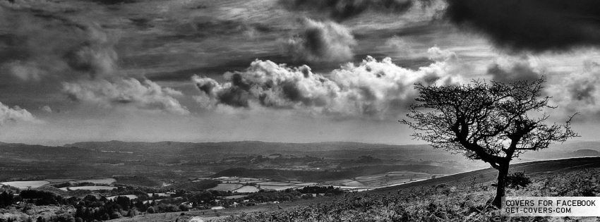 Get This Black And White Landscape Facebook Covers For Your Profile From