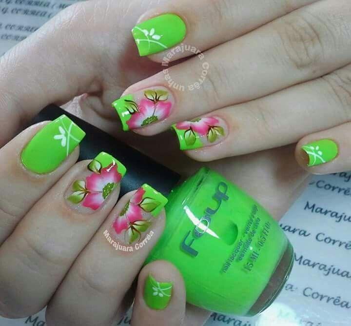 Pin de Zromero Romero en uñas | Pinterest | Diseños de uñas ...