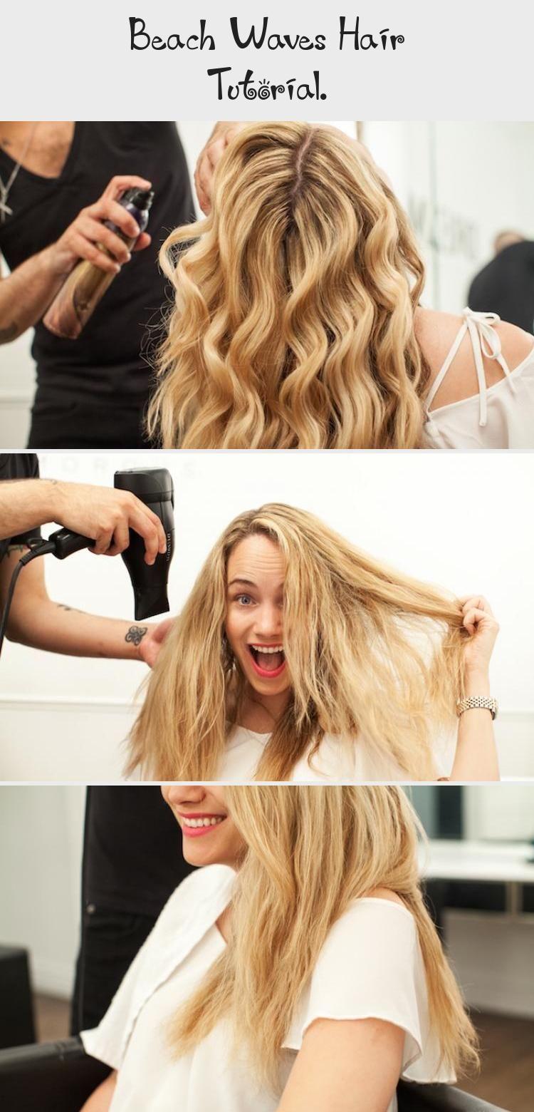 Beach Waves Hair Tutorial Hairstyles Beach Waves Hair Tutorial Waves Hair Tutorial Hair Waves