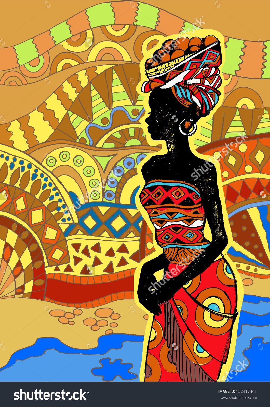 Pin by Brenna Smothers on African Goddesses | Pinterest | African ...