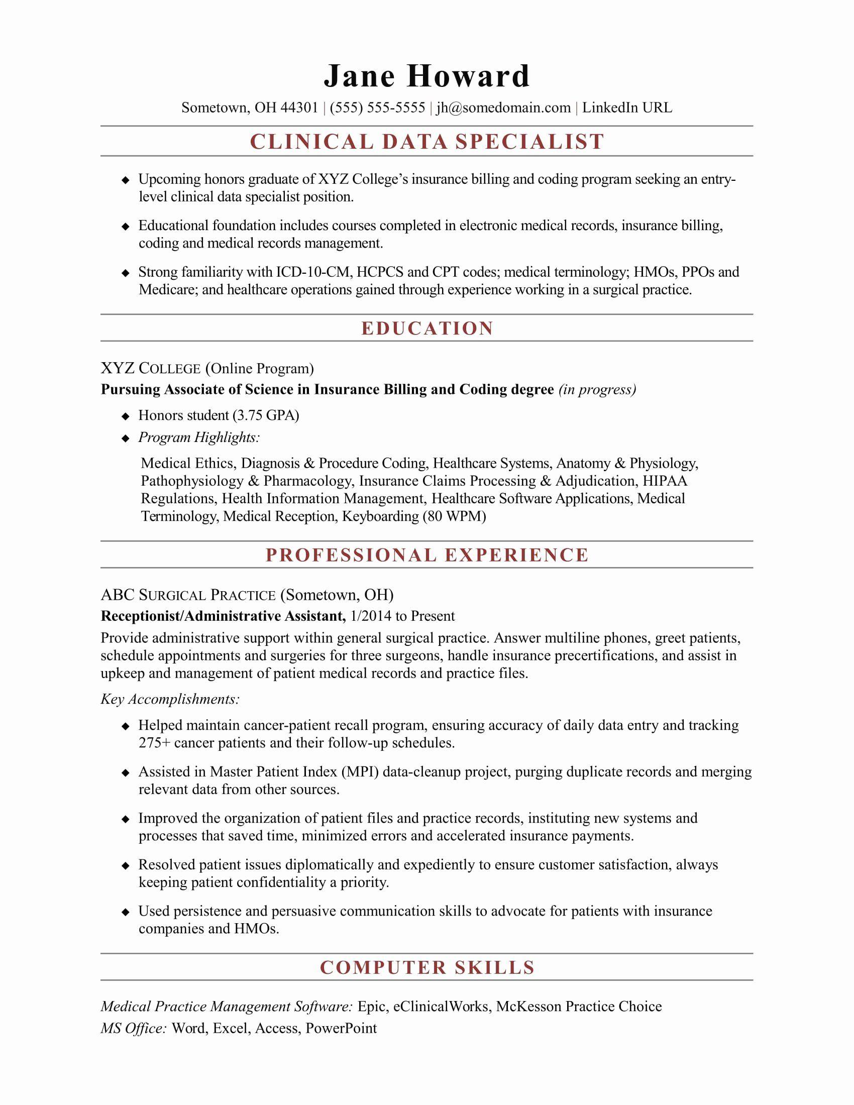 23 medical scribe job description resume in 2020 resume
