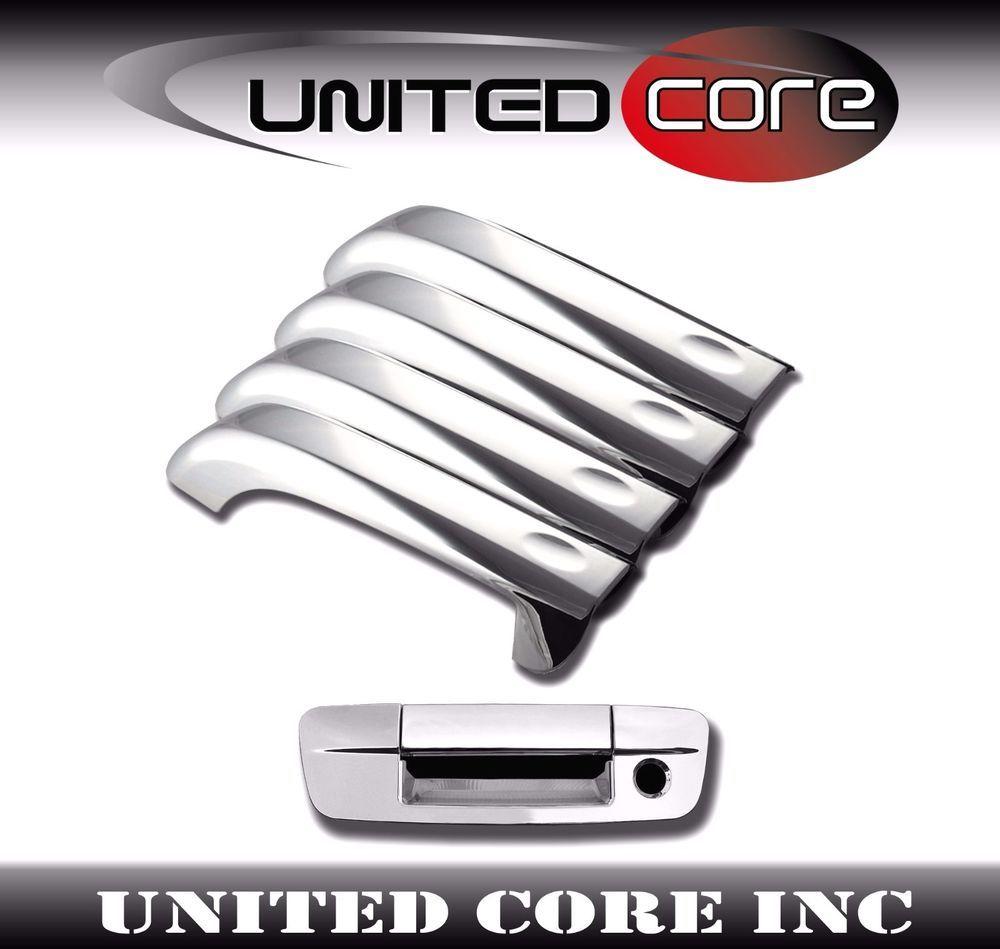 Dodge Ram 09 10 11 12 13 14 15 16 Chrome Door Handle Cover Chrome Tailgate Ebay Dodge Ram Chrome Door Handles Dodge