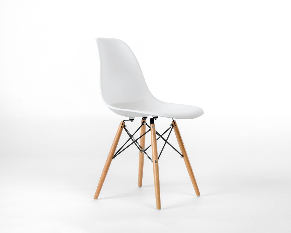 Dsw Molded Plastic Side Chair Wooden Dowel Base Rove Concepts Rove Classics Mid Century Furniture In 2020 Chair Design Wooden Molded Plastic Chairs Eames Molded Plastic Side Chair
