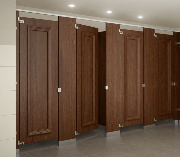 Ironwood manufacturing toilet compartments restroom for Bathroom partitions