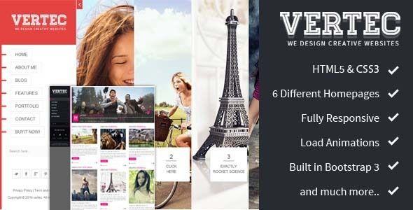 check our Vertec - Creative Portfolio Template http://themeforest.net/item/vertec-creative-portfolio-template/7332055