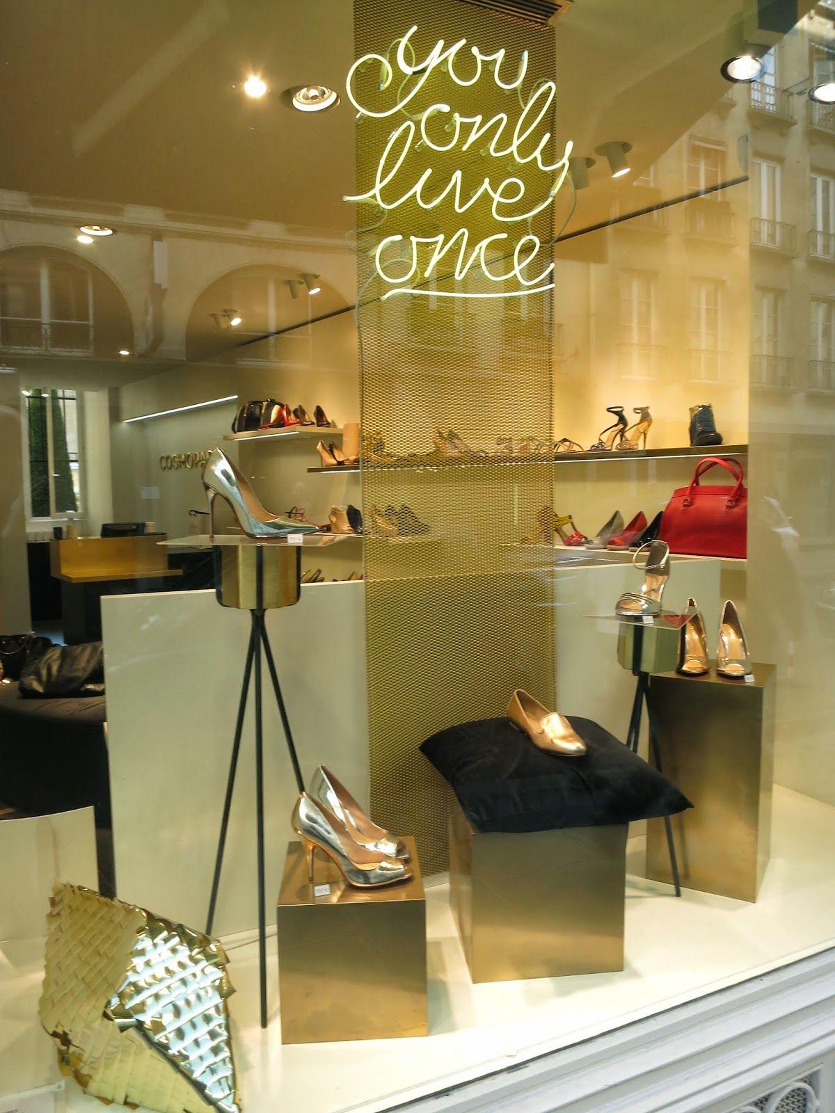 free delivery on feet at online here Cosmoparis - March 2014 - Paris via retailstorewindows.com ...