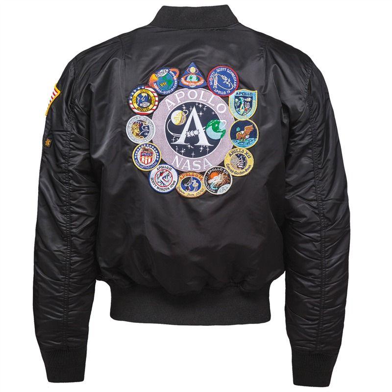 aa4cb8f90 Apollo MA-1 Flight Jacket | Alpha Industries | Your Pinterest Likes ...