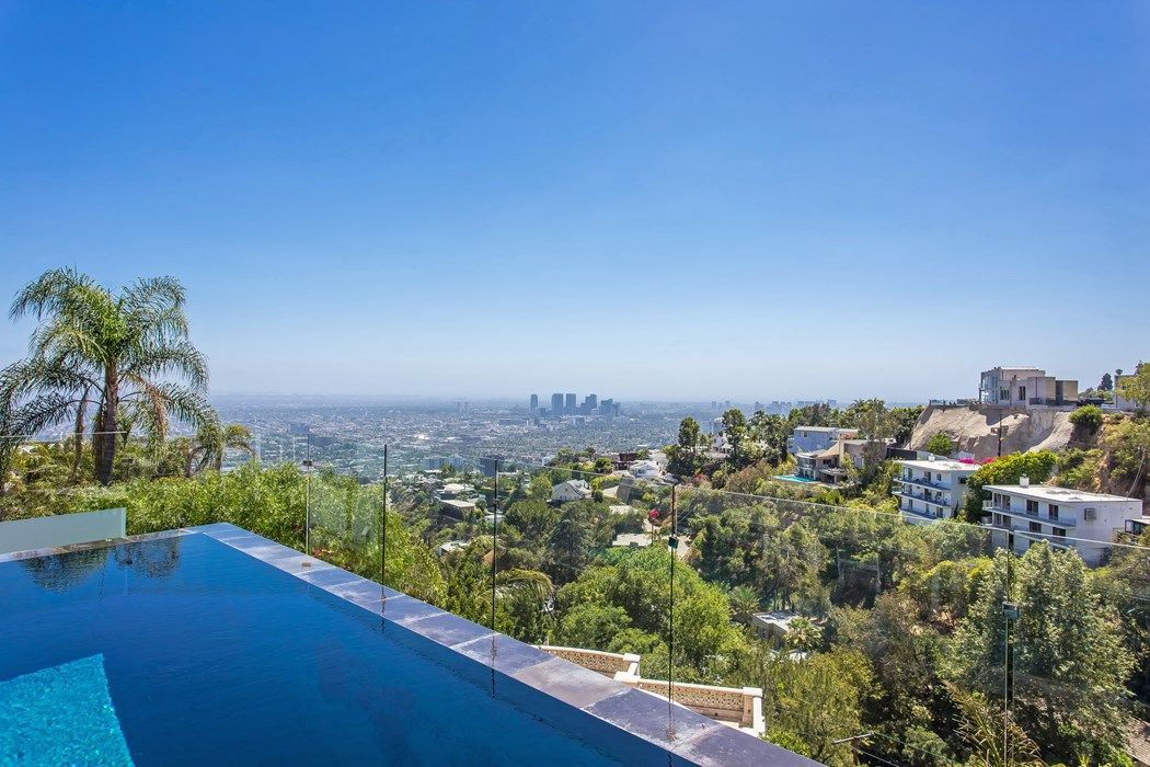 City Views Infinity Pool 1764 Viewmont Drive Los Angeles Ca