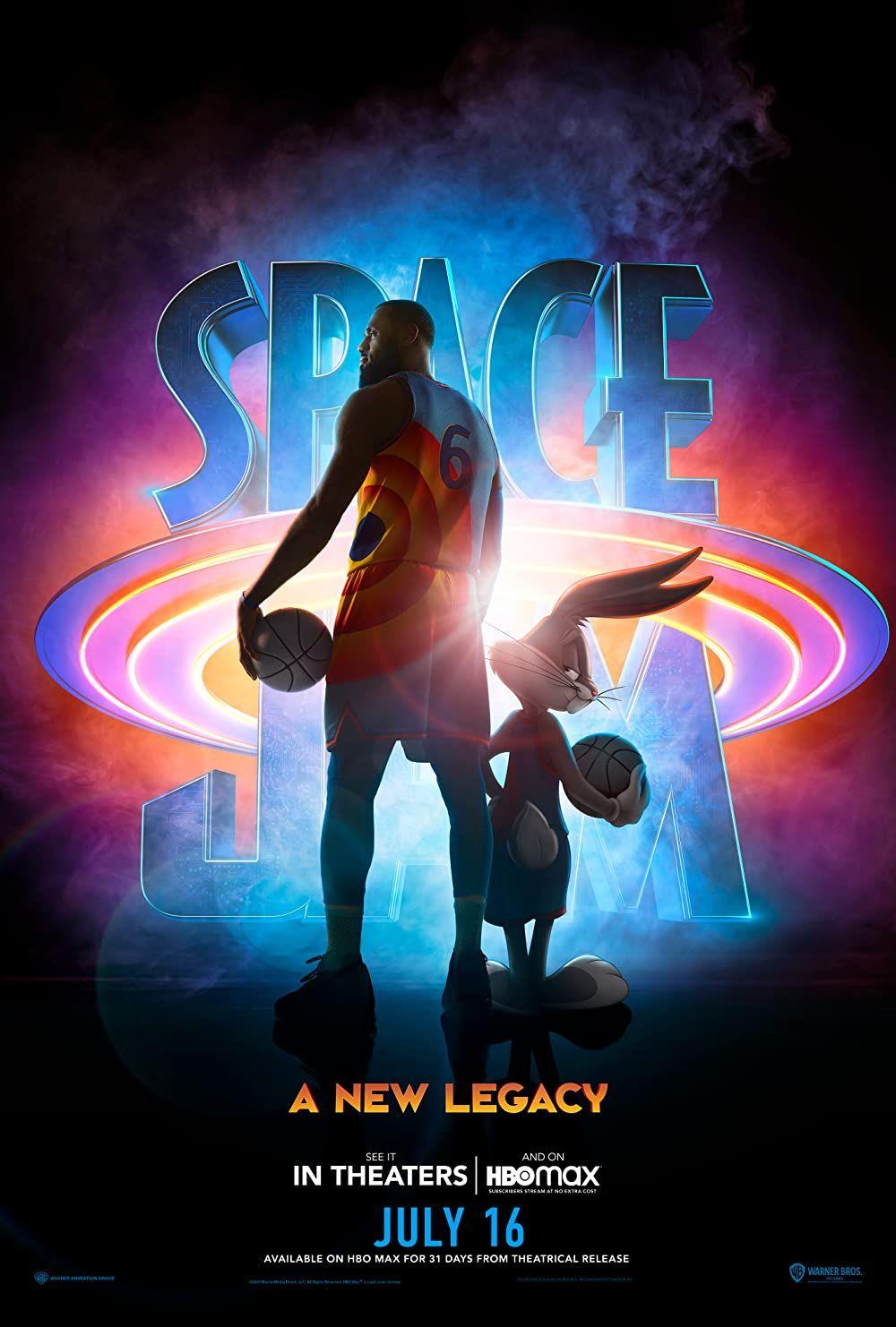 Space Jam A New Legacy 2021 En 2021 Space Jam Peliculas Nuevas De Disney Poster De Peliculas