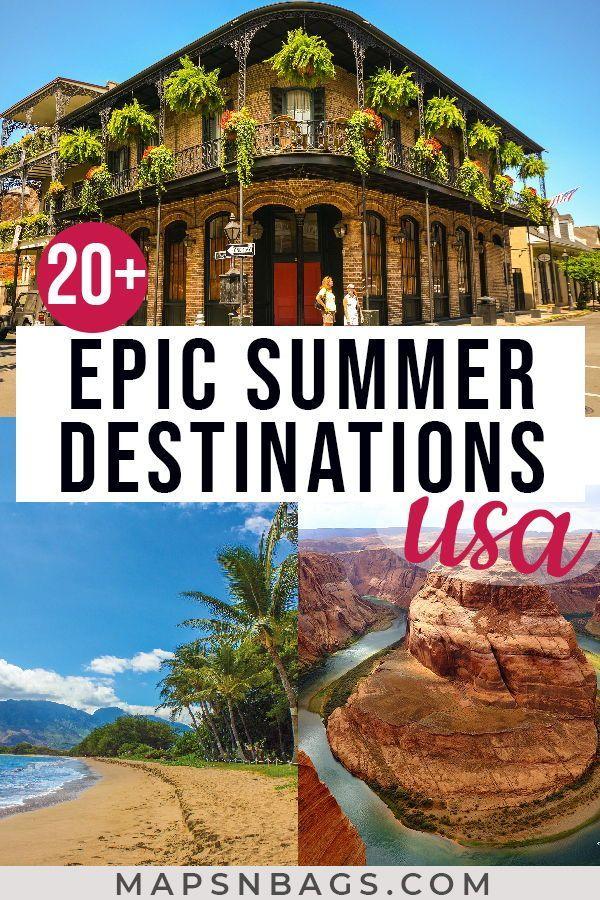 19 holiday Destinations usa ideas