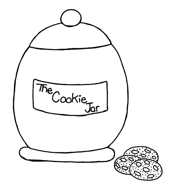 Pin On Cookie Jar Coloring Pages