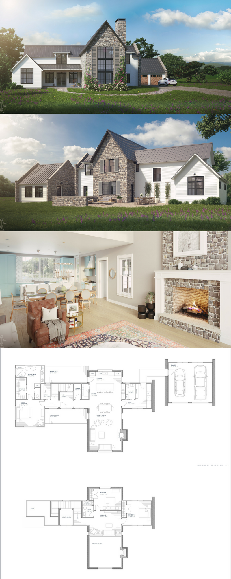 The Aubrac Farmhouse House Plan European Farmhouse European Farmhouse Style Farmhouse Design Farmhouse Style House Countryside House House Plans Farmhouse