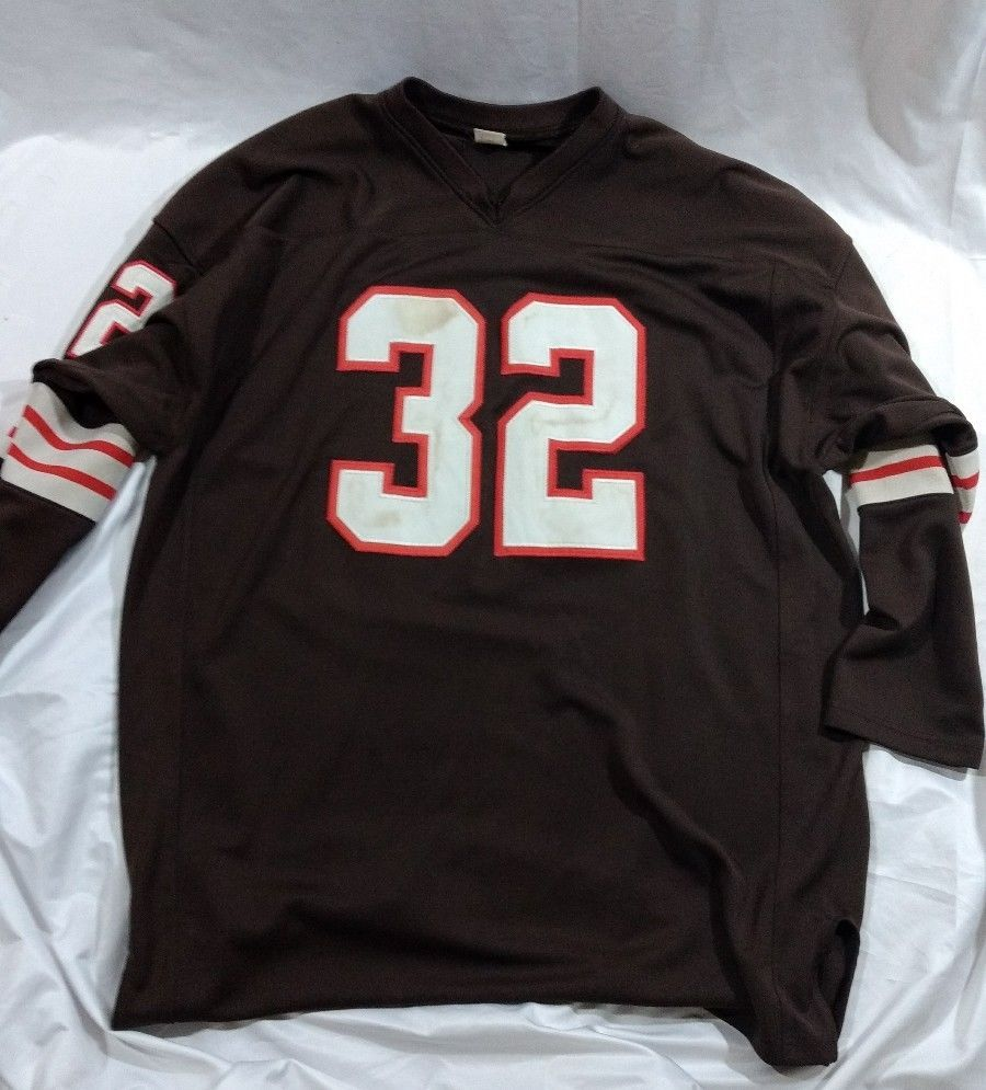 Pin by Brett Luckette on JIm Brown Throwback Jersey  32 Cleveland ... ddd3a49bc