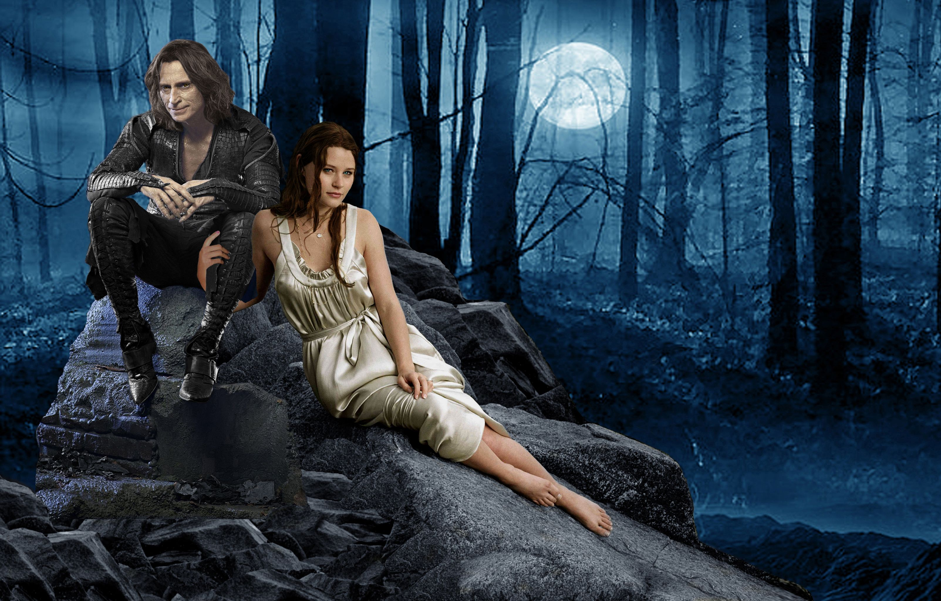 Once Upon A Time Fan Art Rumplestiltskin Belle Hq Robert Carlyle Once Upon A Time Rumple And Belle