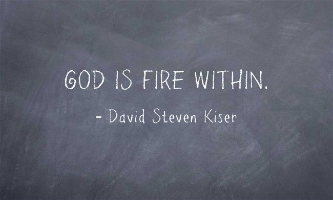 GOD IS FIRE WITHIN.
