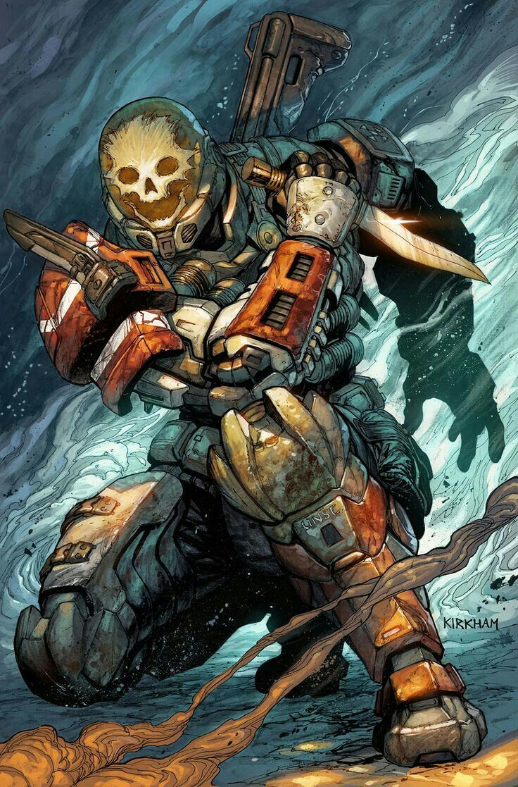 Emile the best of noble team Halo reach, Halo spartan