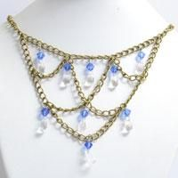 How to Make Gothic Chandelier Necklace for Women with Chains