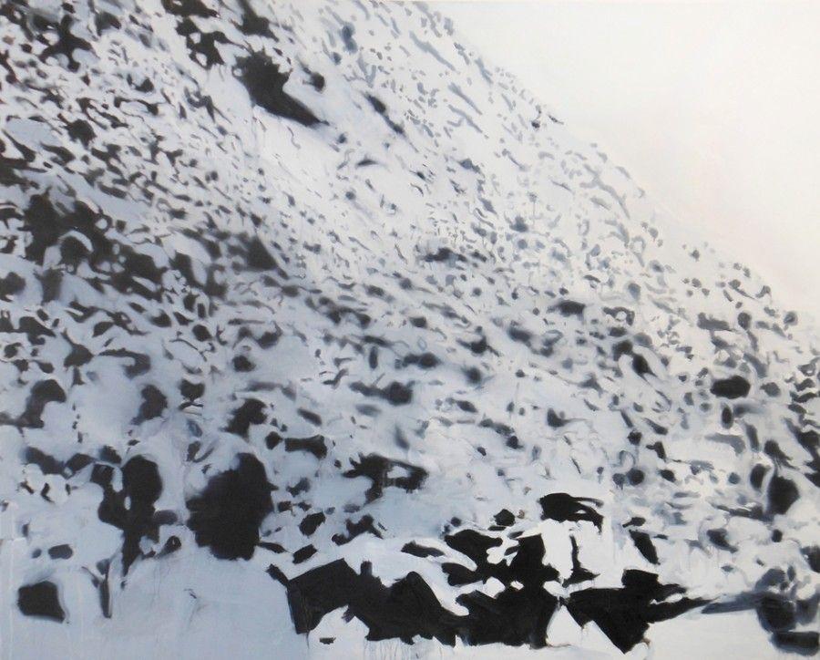 Rock 1 (2013). Oil on canvas