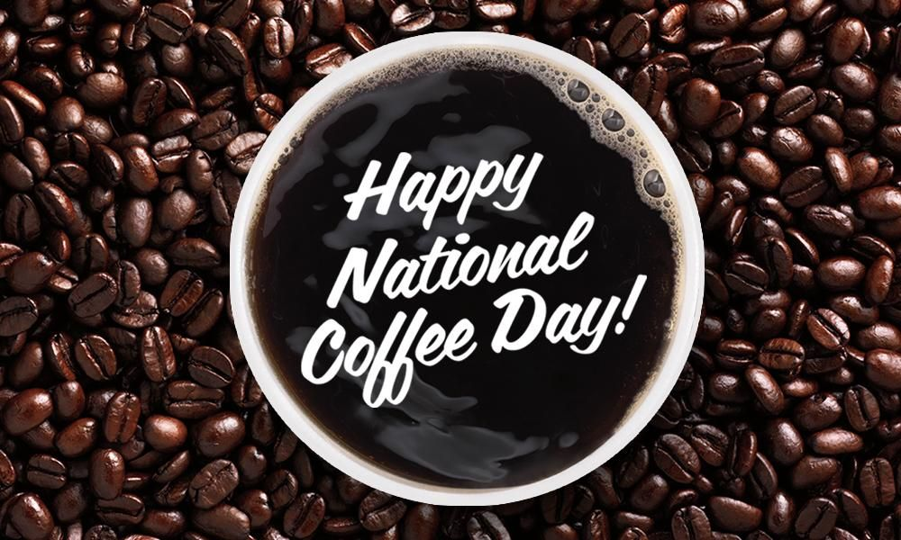 Dunkin' on Twitter National coffee day, Happy coffee