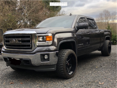 2014 Gmc Sierra 1500 22x12 44mm Ballistic Rage In 2020 2014 Gmc