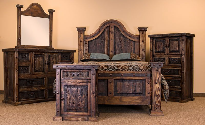 Laguna Rustic Bedroom Set In 2019 Furniture