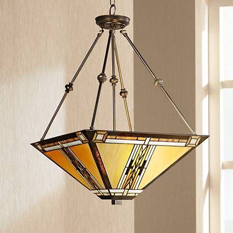 Walnut mission style pendant chandelier style 43240 pendant walnut mission style pendant chandelier style 43240 aloadofball Image collections