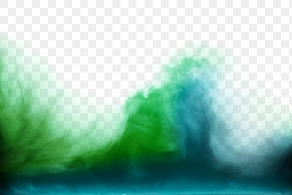 Green Blue Gradient Smoke Png Fog Background Free Image By Rawpixel Com Maewh Free Illustrations Abstract Acrylic Illustration