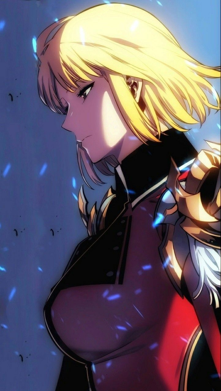 Serious Beautiful Profile Illustration Of Cha Hae In When She Walk Out Of A Portal Chahaein Sololeveling Beautifulsce Anime Manga Drawing Character Art