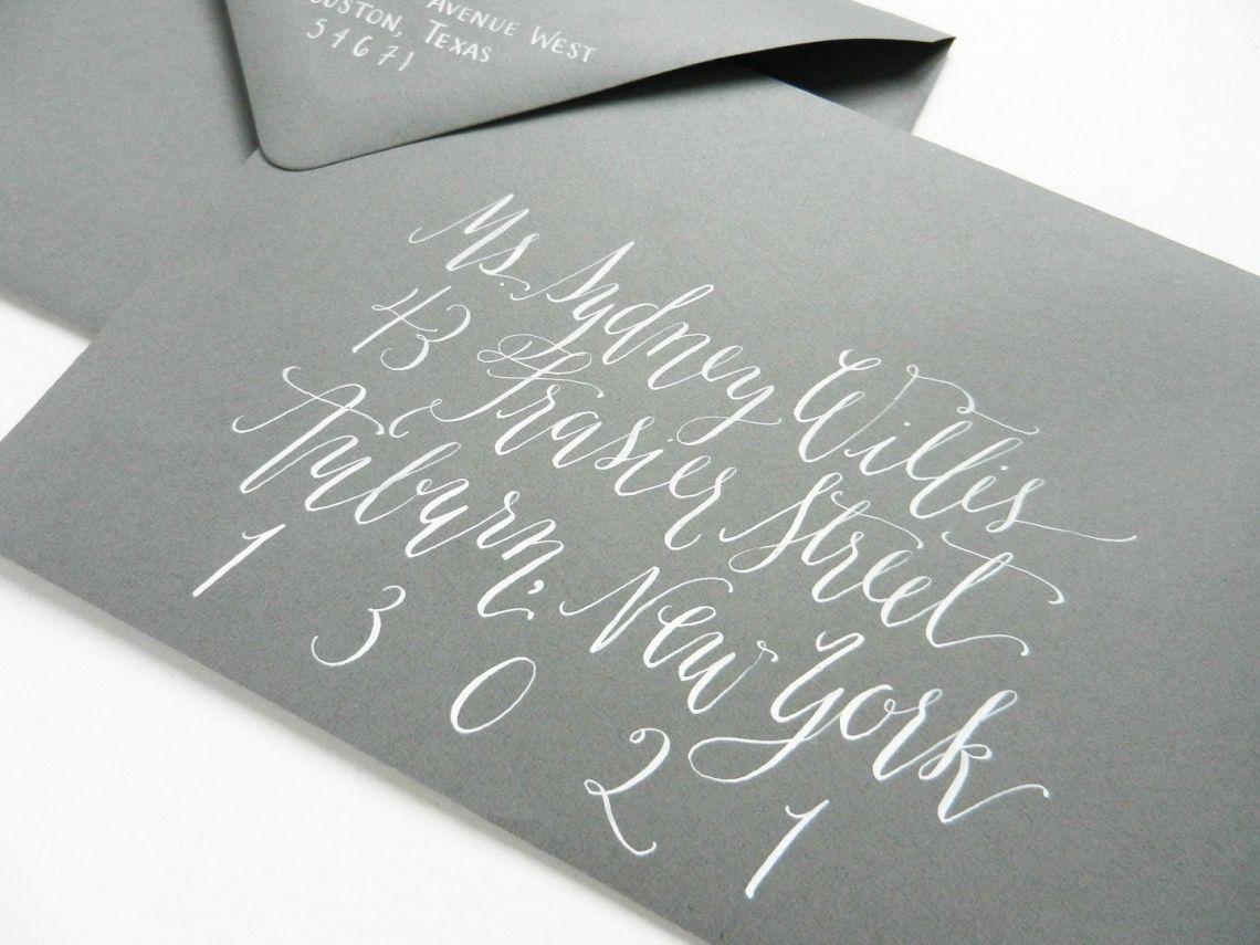 handwrite or print wedding invitation envelopes%0A Kaitlin Style Calligraphy Worksheet  Foil Wedding InvitationsWedding  EnvelopesWedding