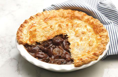 Steak and mushroom pie | Recipe | Steak, mushroom pie ...