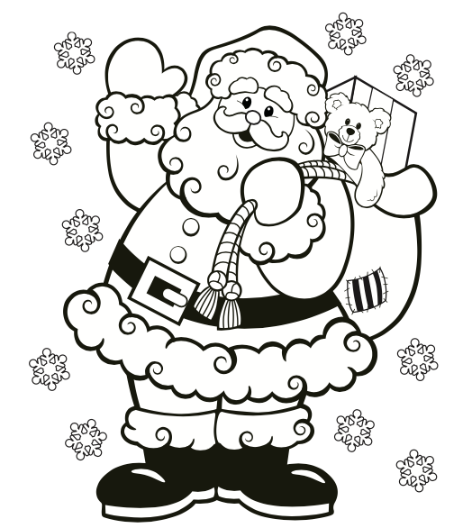 7 Free Christmas Coloring Pages Grandma Ideas Santa Coloring Pages Printable Christmas Coloring Pages Free Christmas Coloring Pages