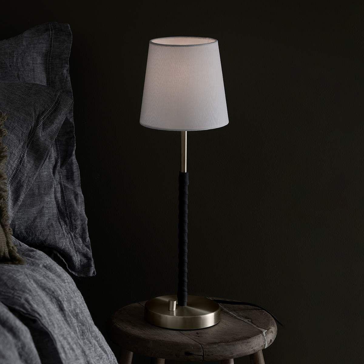 Nachttischleuchte Saddle Von Markslojd Gold Tischleuchte Lampen