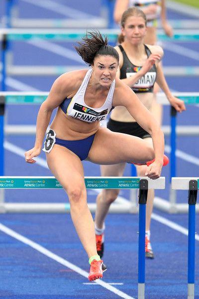 olympic hurdler jenneke - 400×600