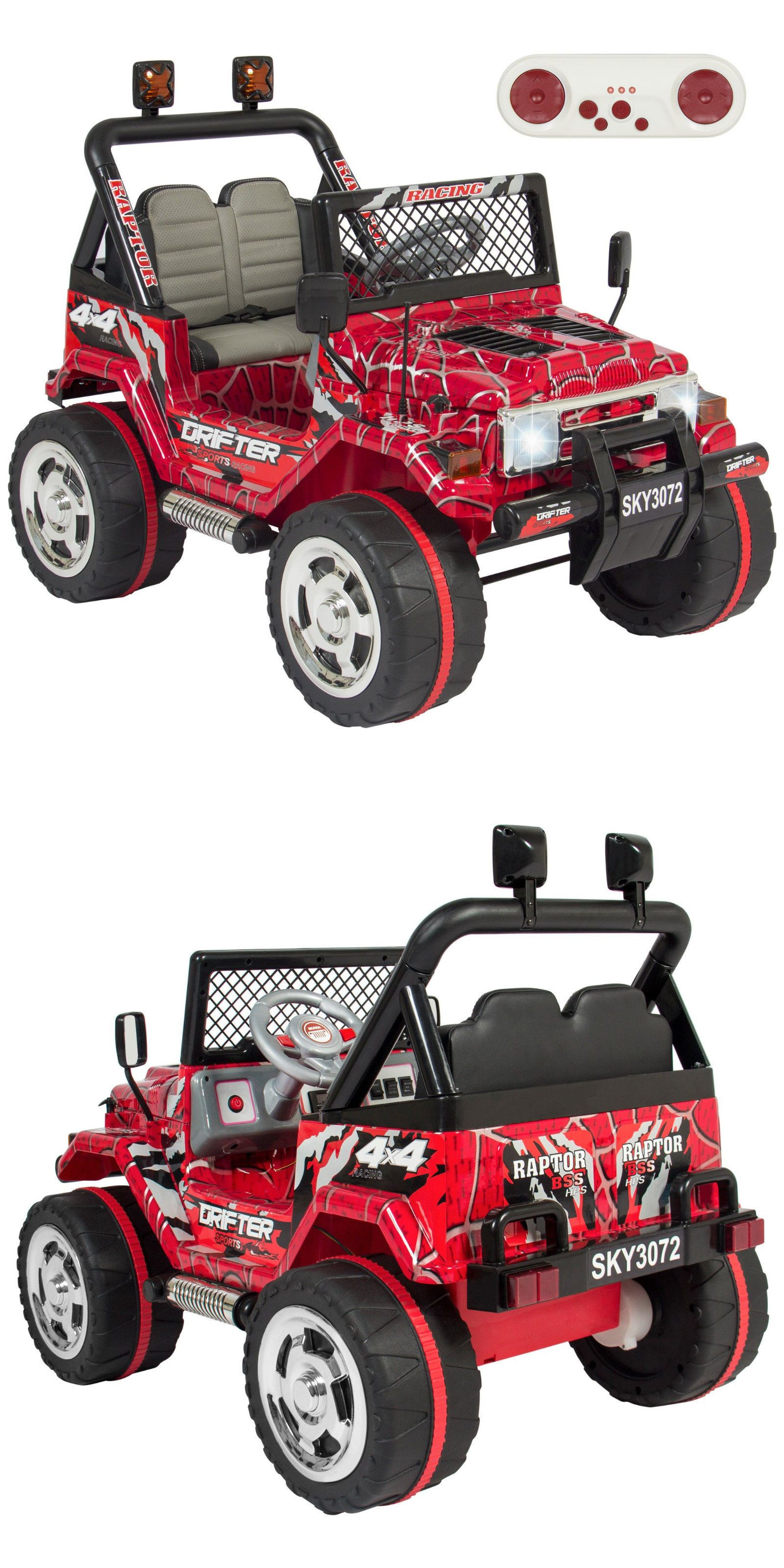 Mini jeep car toys  Ride On Toys and Accessories  Best Choice Products V Ride
