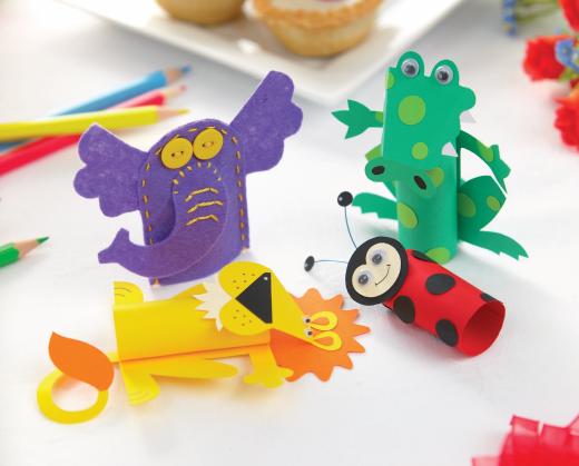 Children's Finger Puppets Crafts, Finger puppets, Craft