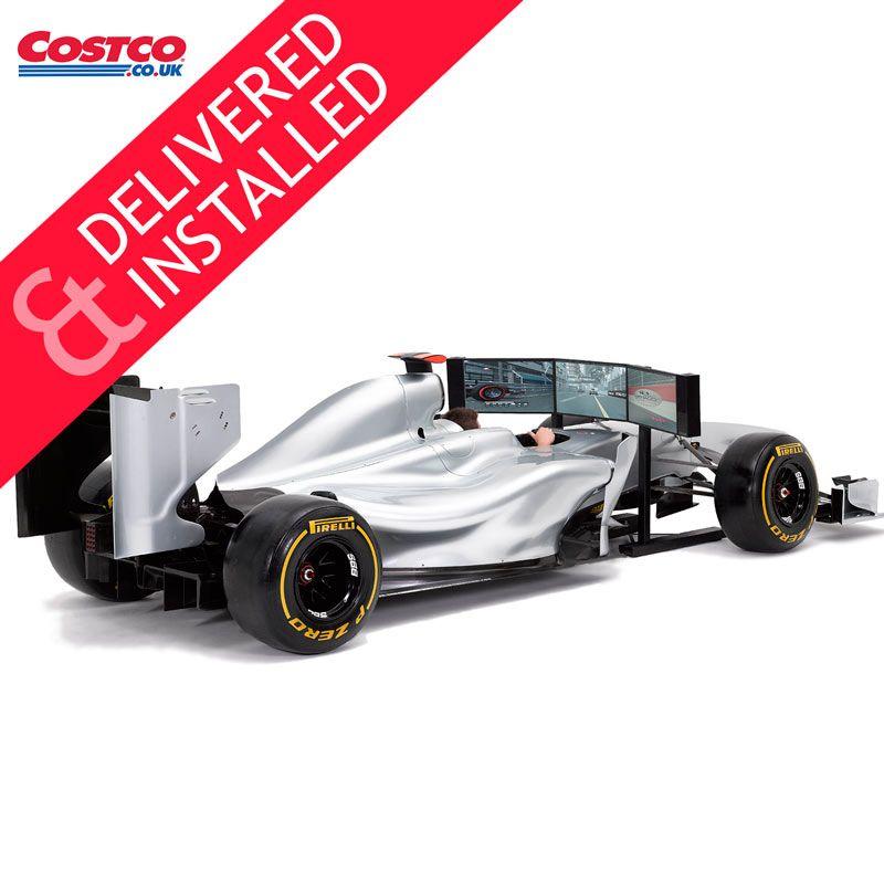 Costco UK - Full Size Racing Car Simulator