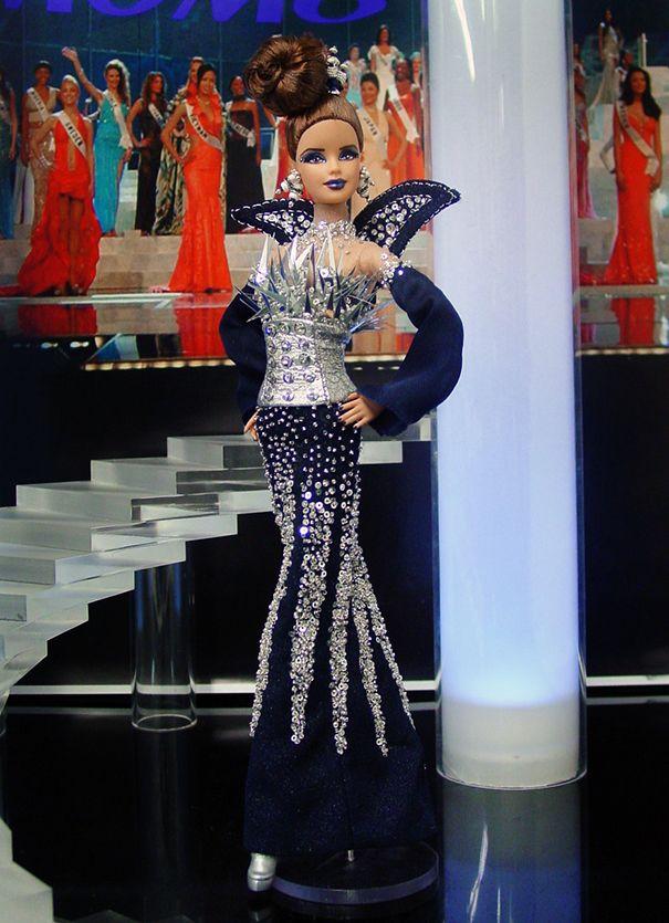 Miss North Dakota 2013 Fashion Dolls In Evening Gowns In 2018