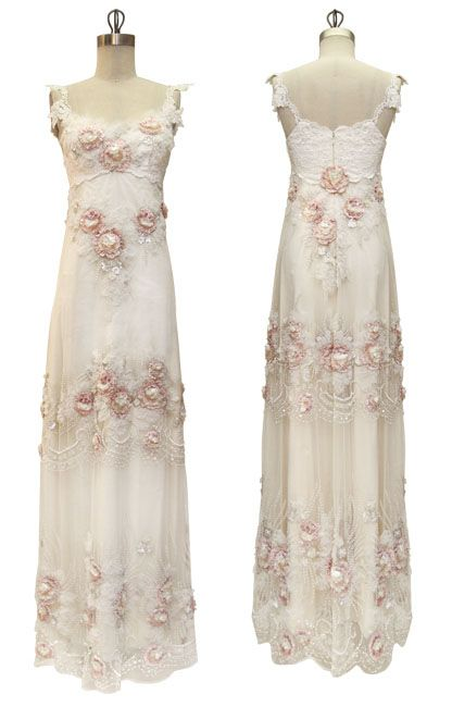 wedding gown by #Claire_Pettibone