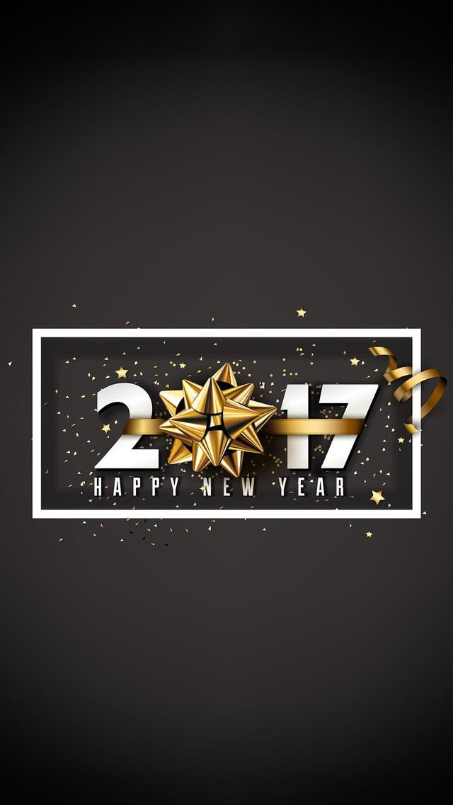 Wallpaper IPhone Happy 2017 Holidays New Year