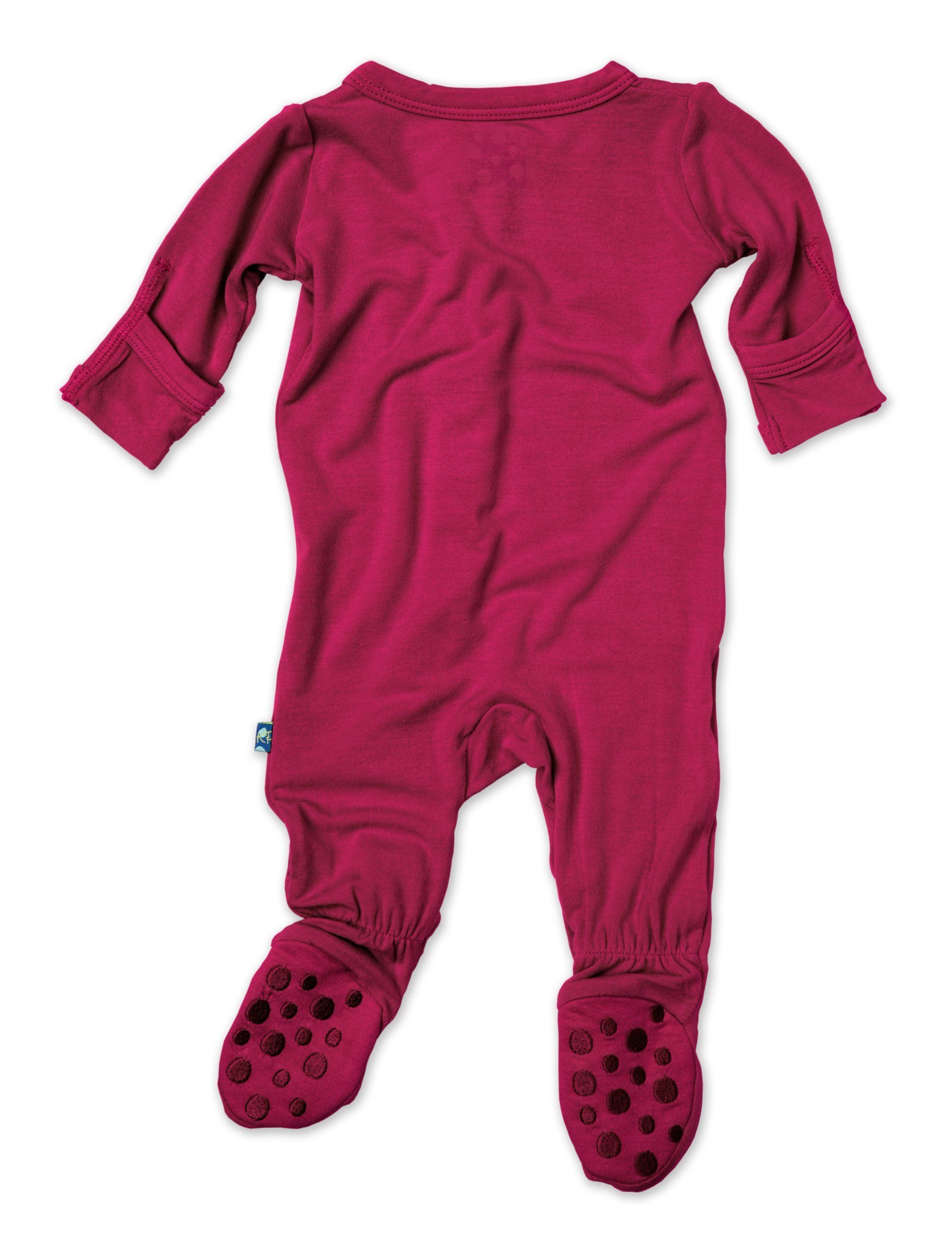 KicKee Pants Footie Orchid 3 6 Months