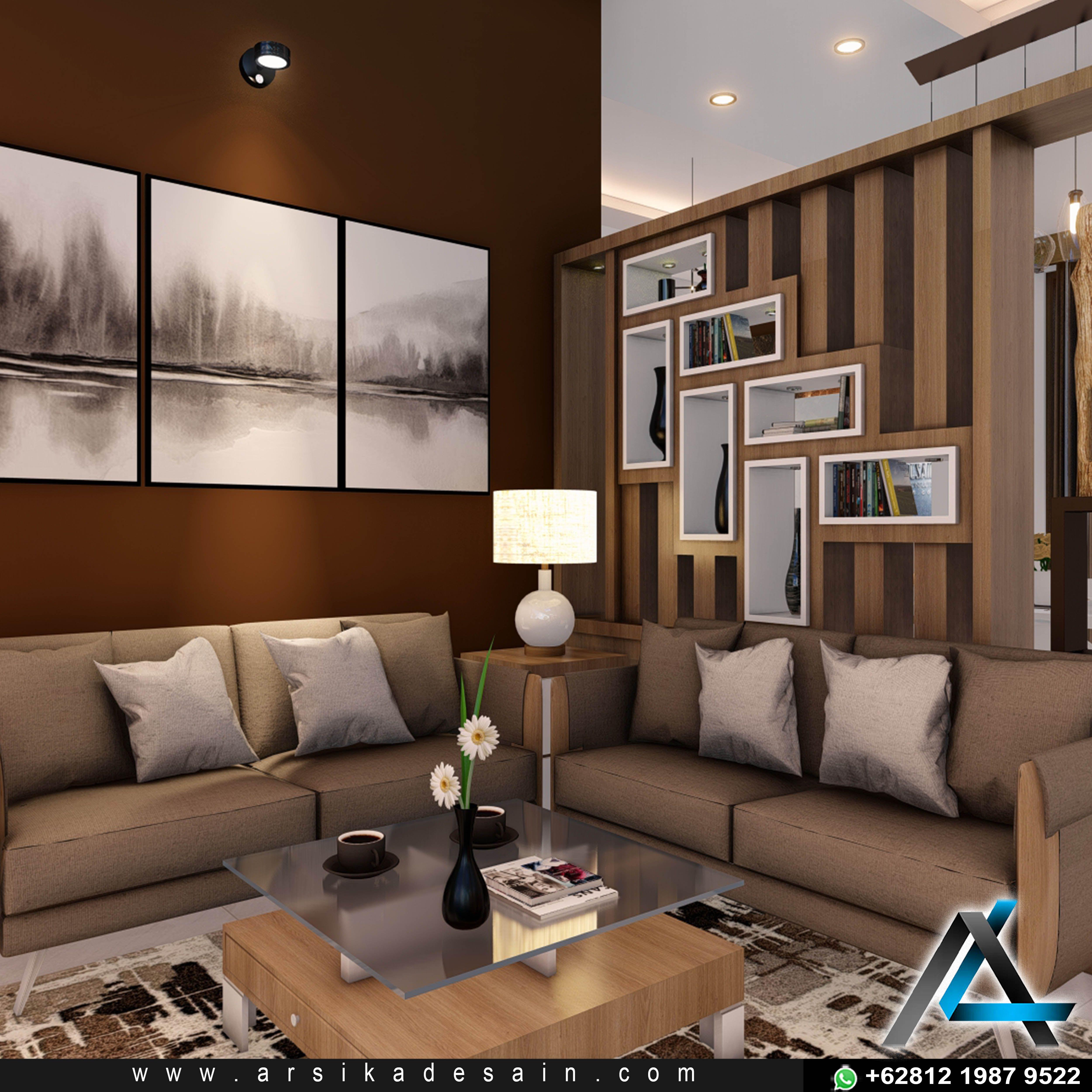 Desain Interior Ruang Tamu Minimalis Modern Di 2020 Desain Interior Interior Ruang Tamu Rumah