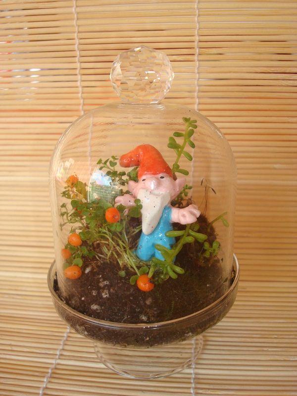 Poterie: rigolo ce mini nain de jardin! | ♥ ♥ ♥ Poterie ...