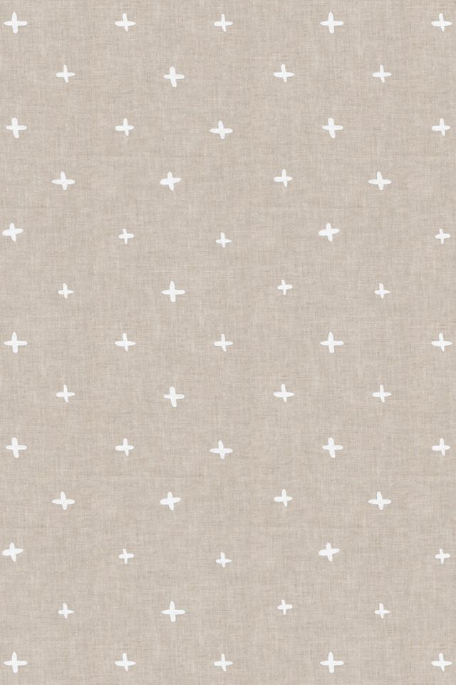 Simple Pattern Inspiration Neutral Color Palette Fabric