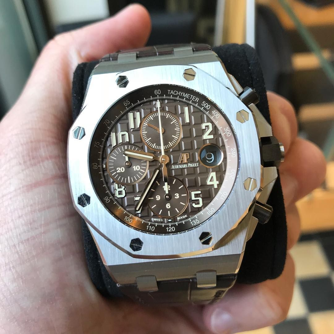 The New Audemars Piguet Royal Oak Offshore Safari What A Perfect