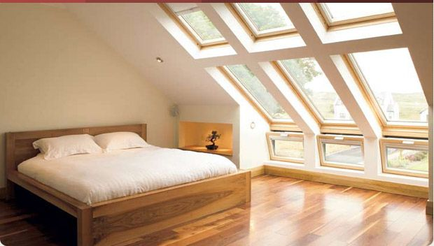 Mezzanine Loft Conversion converting attic to an open loft -awesome attic windows! | update
